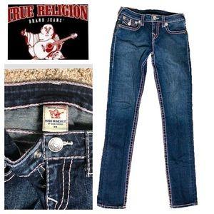 True Religion Embellished Skinny Jeans Size 14